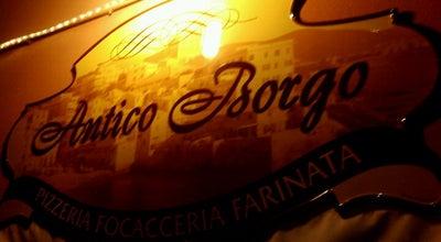 Photo of Pizza Place Antico Borgo at Via Boccadasse, Genova, Italy