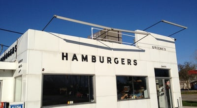Photo of Burger Joint Greene's Hamburgers at 24155 Orchard Lake Rd, Farmington Hills, MI 48336, United States