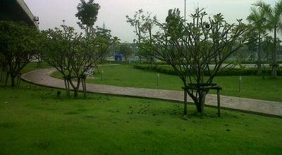 Photo of Park สวนสุขภาพบางหญ้าแพรก at Samutprakarn,bangyaphraek, Thailand