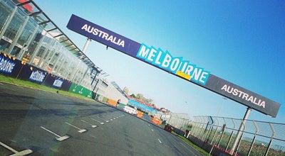 Photo of Racetrack Formula 1 Grand Prix Circuit at Aughtie Dr., Melbourne, VI 3206, Australia
