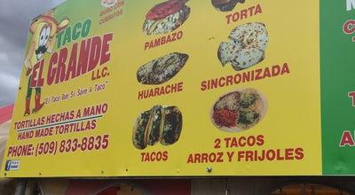 Photo of Taco Place Taco El Grande at E Nob Hl, Yakima, WA 98901, United States