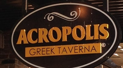 Photo of Greek Restaurant Acropolis Greek Taverna at 6108 Grand Winthrop Ave., Riverview, FL 33578, United States