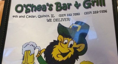 Photo of Bar O'shea's Bar And Grill at 339 Cedar St, Quincy, IL 62301, United States