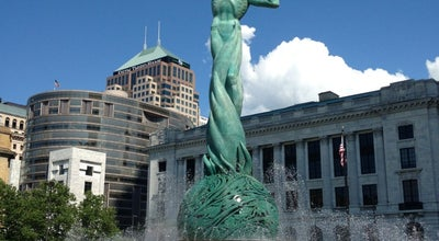 Photo of Outdoors and Recreation Fountain of Eternal Life at 350 St Clair Ave Ne, Cleveland, OH 44114, United States