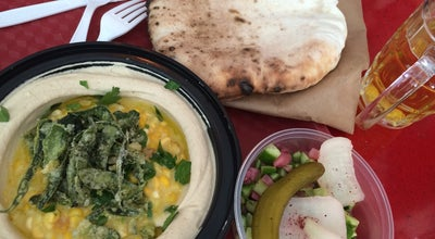 Photo of Food Dizengoff at 75 9th Ave, New York, NY 10011, United States