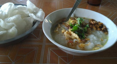 "Photo of Breakfast Spot Bubur Ayam Khas Bandung ""Wilujeng Sumping"" at Jalan Menteri Supeno, Surakarta, Indonesia"