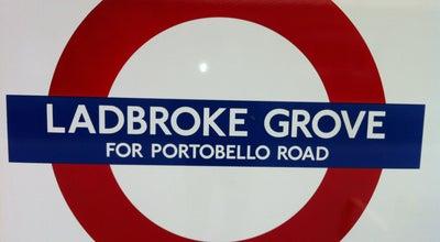 Photo of Subway Ladbroke Grove London Underground Station at Ladbroke Gr., North Kensington W10 6HJ, United Kingdom