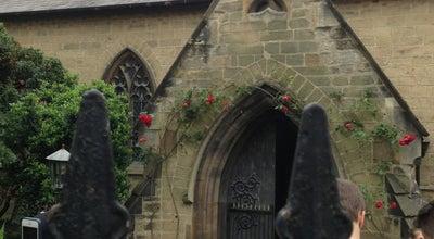 Photo of Church St. Bene't's Church at Cambridge, United Kingdom