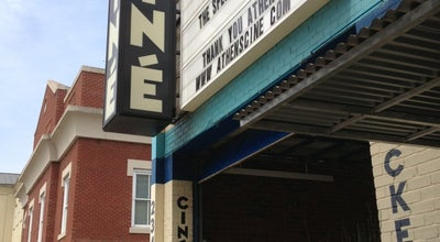 Photo of Indie Movie Theater Ciné at 234 W Hancock Ave, Athens, GA 30601, United States