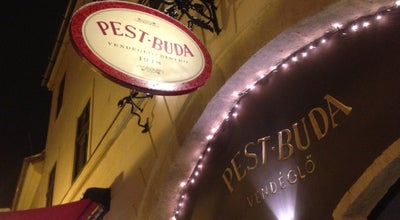 Photo of Eastern European Restaurant Pest-Buda Bistro & Hotel at Fortuna U. 3., Budapest 1014, Hungary