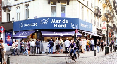 Photo of Fish and Chips Shop Noordzee - Mer du Nord at Sint-katelijnestraat 45, Brussels 1000, Belgium