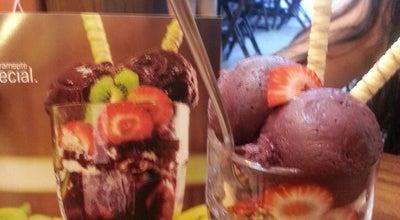 Photo of Ice Cream Shop Frutos de Goiás Sorvetes at R. João Da Cruz, 370, Vitória, Brazil