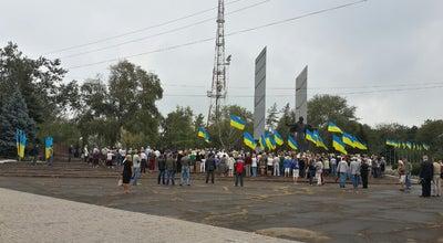 Photo of Monument / Landmark Памятник Освободителям Донбасса at Пл. Ленинского Комсомола, Мариуполь, Ukraine