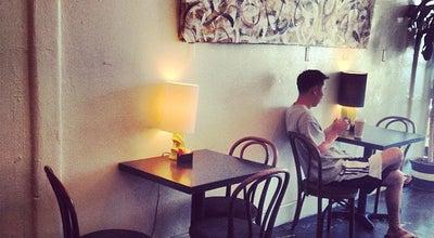 Photo of Cafe Hudson Lobby at 6541 Santa Monica Blvd, Los Angeles, CA 90038, United States