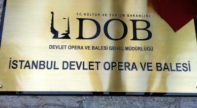 Photo of Dance Studio İstanbul Devlet Opera ve Balesi at Eski Tekel Binasi, Istanbul, Turkey