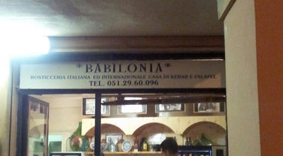 Photo of Falafel Restaurant Babilonia Kebab at Via Del Pratello 17/b, Bologna 40122, Italy