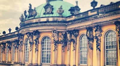 Photo of Palace Schloss Sanssouci at Maulbeerallee, Potsdam 14469, Germany
