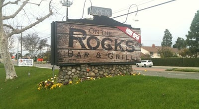 Photo of American Restaurant On The Rocks Bar & Grill at 12752 Valley View St, Garden Grove, CA 92845, United States