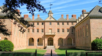 Photo of Historic Site Wren Building and Courtyard at 111 Jamestown Rd, Williamsburg, VA 23185, United States