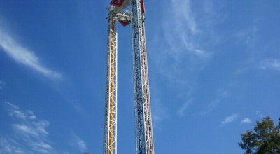 Photo of Theme Park Ride / Attraction Superman Tower Of Power at Six Flags Over Texas, Arlington, TX, United States