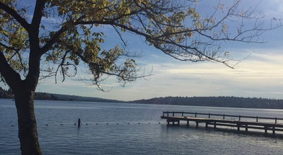 Photo of Beach Clarke Beach Park at East Mercer Way, Mercer Island, WA 98040, United States