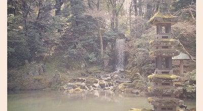 Photo of Lake 兼六園 翠滝(Midori-taki falls) at 兼六町, 金沢市 920-0937, Japan