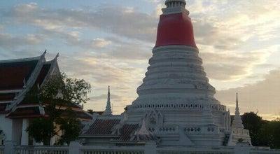 Photo of Historic Site พระสมุดเจดีย์ at Phra Samut Chedi, Thailand