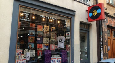 Photo of Record Shop Veals & Geeks at Lievevrouwbroerstraat 8a Rue Des Grands Carmes, Brussels 1000, Belgium