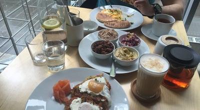 Photo of Breakfast Spot Table at Лесная Ул., 45, Москва, Russia