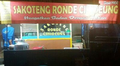 Photo of Dessert Shop Sakoteng Ronde Cihideung at Jl. Cihideung, Tasikmalaya, Indonesia