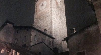 Photo of Historic Site Torre civica - Campanone at Piazza Vecchia, Bergamo, Italy