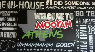 Photo of American Restaurant MOOYAH Burgers, Fries & Shakes at 220 S Palestine St, Athens, TX 75751, United States