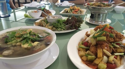 Photo of Asian Restaurant ร้านครัวบ้านแร่ (Krua Ban Rae Restaurant) at National Rual Hwy No 4001, Mueang Phatthalung, Thailand