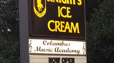 Photo of Ice Cream Shop Knights Ice Cream at 596 S Cleveland Ave, Westerville, OH 43081, United States