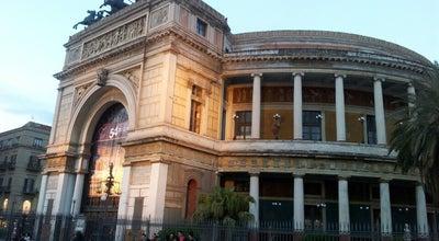 Photo of Theater Teatro Politeama Garibaldi at Piazza Castelnuovo, Palermo, Italy