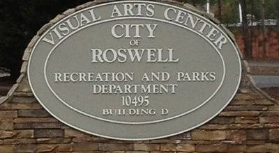 Photo of Art Gallery Visual Arts Center at Roswell Area Park, Roswell, GA 30075, United States