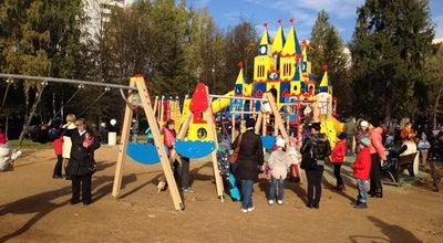 Photo of Playground Детская площадка в Лианозовском парке at Russia