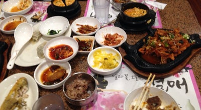 Photo of Korean Restaurant Myung Dong Tofu House 명동분식 at 5446 Beach Blvd, Buena Park, CA 90621, United States