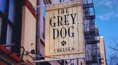 Photo of Cafe The Grey Dog at 242 W 16th St, New York, NY 10011, United States