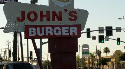 Photo of Burger Joint Johns Burgers at 1155 W 2nd St, San Bernardino, CA 92410, United States