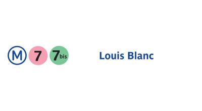 Photo of Subway Métro Louis Blanc [7,7bis] at 234 Rue Du Faubourg Saint-martin, Paris 75010, France