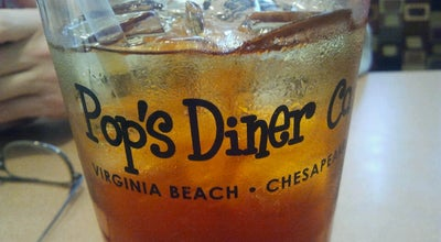 Photo of Diner Pop's Diner Co. at 1432 Greenbrier Pkwy, Chesapeake, VA 23320, United States
