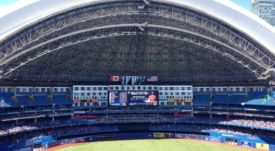 Photo of Athletics and Sports Rogers Centre at 1 Blue Jays Way, Toronto, ON M5V 1J1, Canada