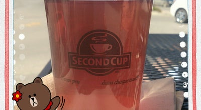 Photo of Coffee Shop Second Cup at Red Deer, AB, Canada