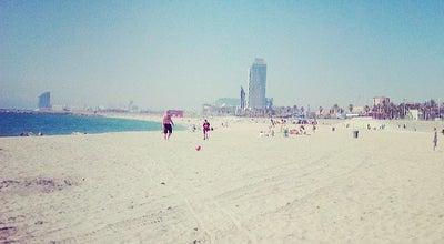 Photo of Beach Platja del Bogatell at Avinguda Del Litoral, Barcelona 08005, Spain