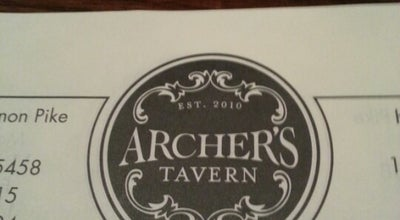 Photo of Bar Archer's Tavern at 9496 Dayton Lebanon Pike, Centerville, OH 45458, United States