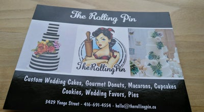 Photo of Bakery The Rolling Pin at 3429 Yonge St, Toronto, ON M4N 2N1, Canada