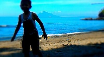 Photo of Beach Pantai Bulo at Jl. Trans Sulawesi, Minahasa 95361, Indonesia