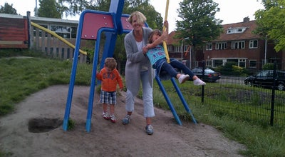 Photo of Playground Vossepark Speeltuin at Brederostraat 8, Leeuwarden, Netherlands