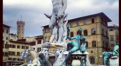 Photo of Outdoors and Recreation Fontana di Nettuno at Piazza Della Signoria, Firenze, Italy